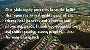 Juan Antonio Samaranch quotes: top famous quotes and ...