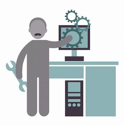 Clipart Systems Engineer Clip Engineering Library Icon