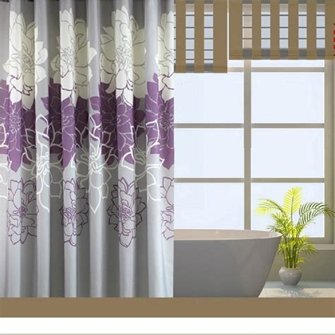 Lavender And Green Curtains the shower curtains plus team shower curtains plus