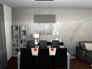 conseils deco salon salle a manger moderne With deco salon salle a manger moderne