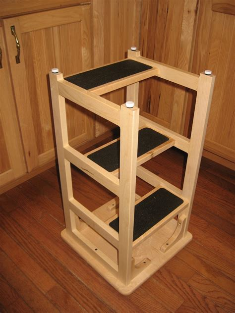 stans hoosier step stool  wood whisperer