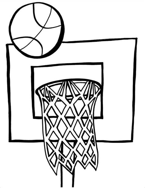 basketball coloring pages    basketball