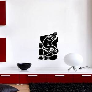 sticker muraux zen sticker mural seigneur ganesha With dessine nous une maison 11 sticker citation zen stickers citations