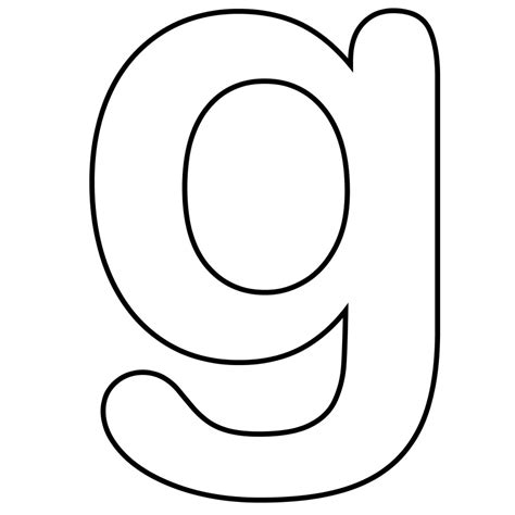 letter g clipart black and white lowercase letter g clipart clipart suggest