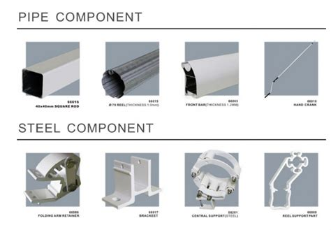 Awning Parts And Awning Conponents