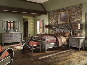 Bedroom Bedroom Decorating Ideas In Rustic Country Style