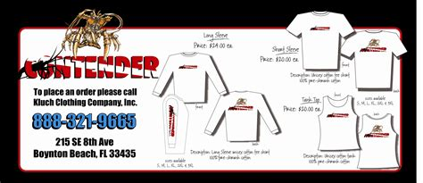 Contender Boats Apparel by Contender Apparel The Hull Boating And Fishing