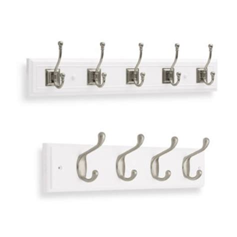 buy wall mounted coat hooks from bed bath beyond