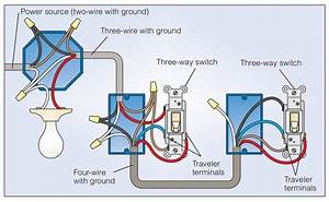 What Wire Is Common On A Light Switch