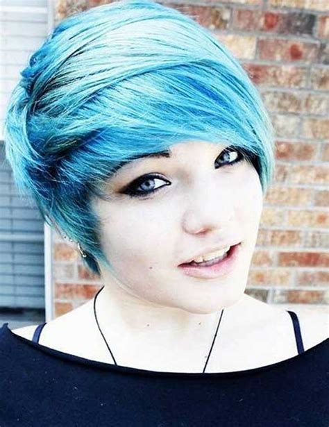 emo pixie cuts short hairstyles