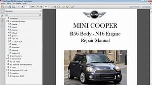 Mini Cooper R56 2011 En Adelante