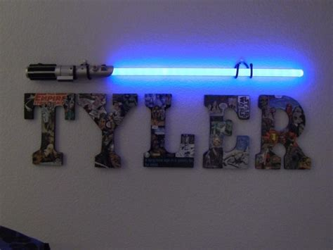 light saber wall light star wars atmosphere at your home