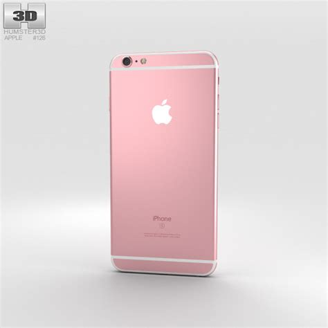 iphone 6s models apple iphone 6s plus gold 3d model humster3d