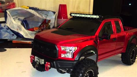 New Bright 2017 Ford Raptor Build On Scx-10