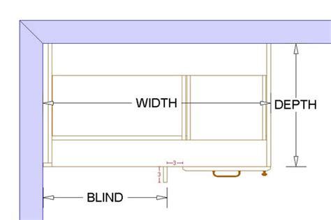 blind corner base cabinet sizes 1 door 1 drawer blind corner base cabinet left