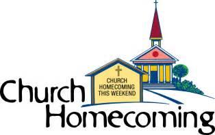 Church Homecoming Clip Art