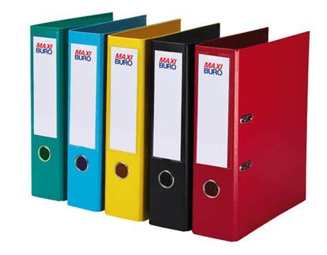 fournitures de bureau pour entreprises et professionnels classeurs couleur à levier plastifiés dos 7 5 cm