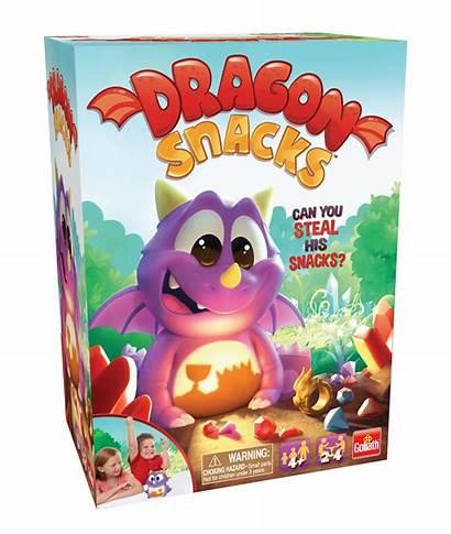 Dragon Snacks Goliath Games Fun Pressman Snatch