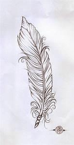 feather linework by verisa1978 on DeviantArt