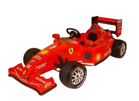 review of licensed f1 12v ride on racing car a great idea child s battery