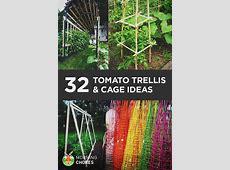 32 Free DIY Tomato Trellis & Cage Ideas to Grow Your