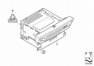 Bmw 550i Fuse  System  Radio  Monitor - 61138384567