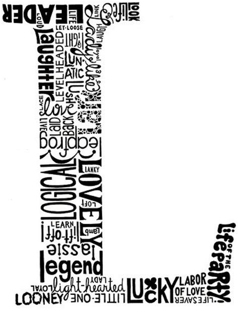 Anchorman I L Script by 25 Best Ideas About Letter L On Letter L