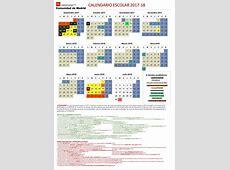 Publicado el Calendario Escolar 20172018 C Madrid AMPA