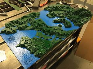 Topographic Map of Seattle – Fremont Laser + Design