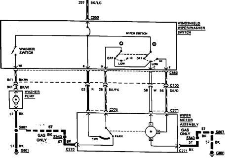 Ford F 150 Wiper Motor Wiring 1987 ford f150 wiper motor not getting power