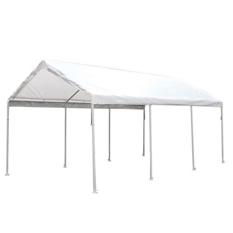 king canopy hercules  ft    ft  steel canopy hcpc  home depot