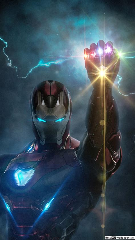 avengers endgame ironman  infinity glove hd