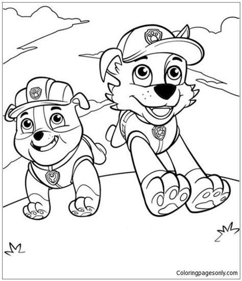 Paw Patrol 21 Coloring Page Paw patrol coloring Paw