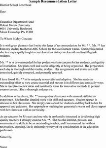 recommendation letter for college template With recommendation letter for student from teacher template