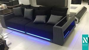 Led Sofa : big sofa mit led b rostuhl ~ Pilothousefishingboats.com Haus und Dekorationen