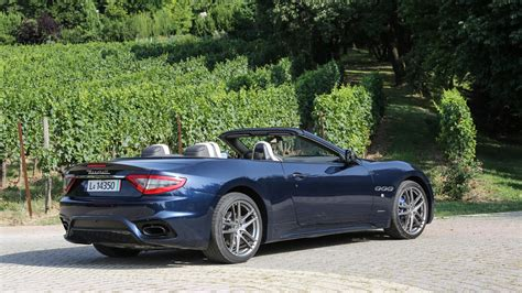 maserati grancabrio sport  review car magazine