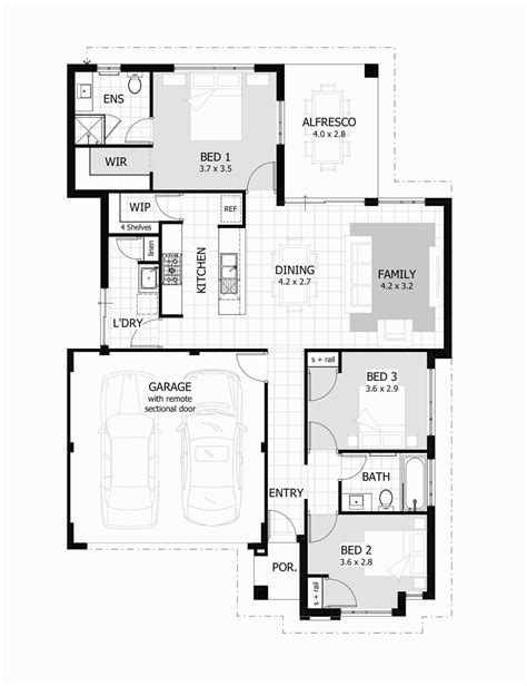 3 bedroom contemporary house plans 1000 square house plans the best 3 bedroom 2 bath 17980