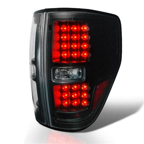 2014 f150 tail lights 2009 2014 ford f150 pickup performance led tail lights black