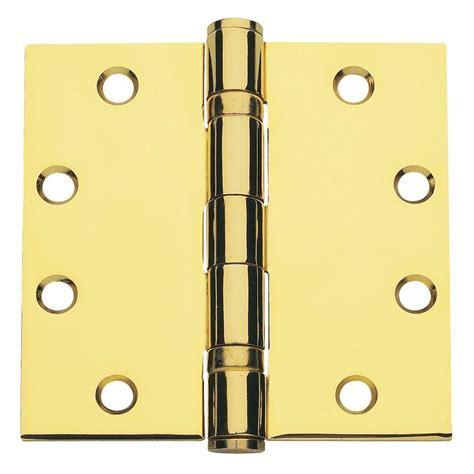 global door controls 4 5 in x 4 5 in bright brass
