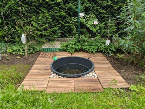 Pool Anlegen Garten by Einen Kleinen Hundepool Im Garten Selbst Bauen Anlegen