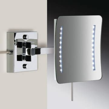 square wall mounted led makeup mirror nameeks ar7701