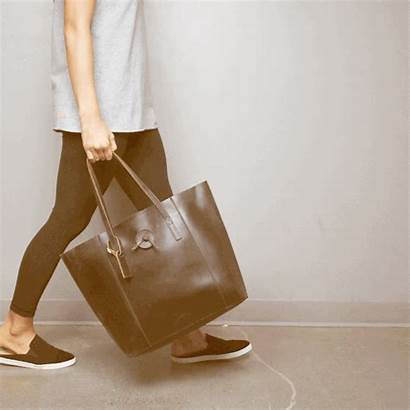 Leather Glove Tote Bags Baseballism Dark Handbags