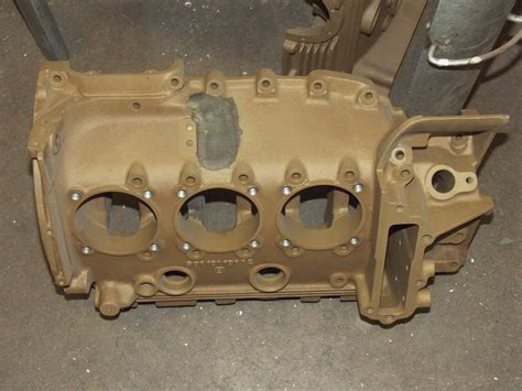 porsche 906 engine magnesium parts factory finish refinishing and corrosion