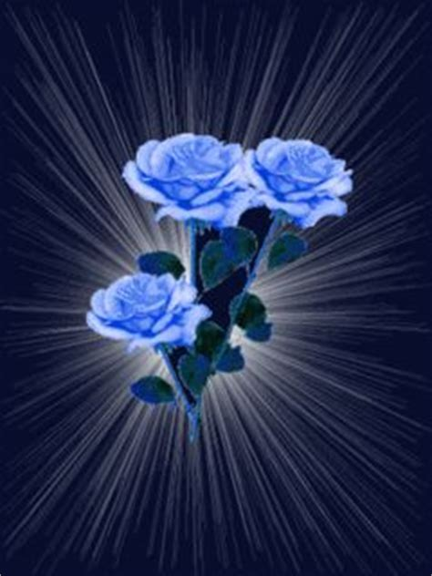 blue glitter graphics animated gifs flowers blue