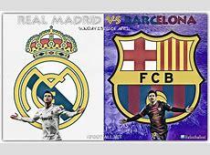 Real Madrid vs Barcelona, El Clasico, Sunday 23rd of April