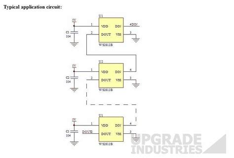 [25x] Ws2812b Digital Serial Rgb 5mm Led Smd5050 Full