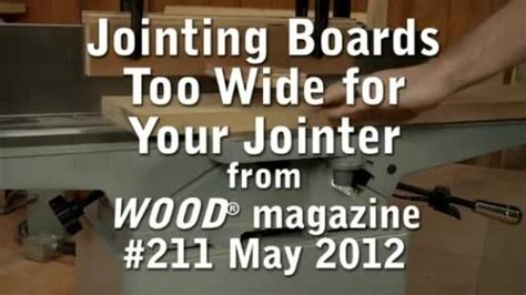 joint wide boards wood magazine