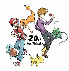 Pokemon 20th Anniversary! by Elphaze on DeviantArt