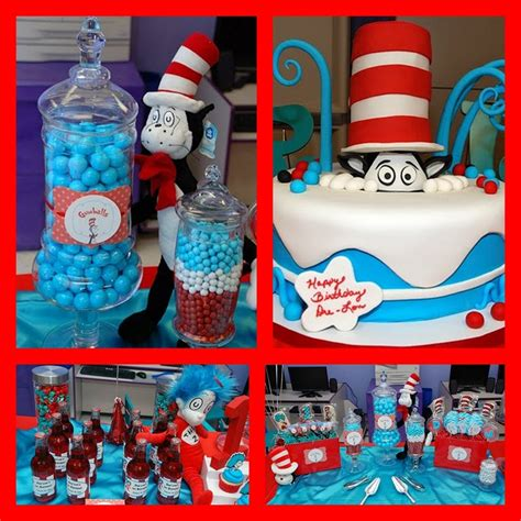 dr seuss birthday party ideas  printable baby