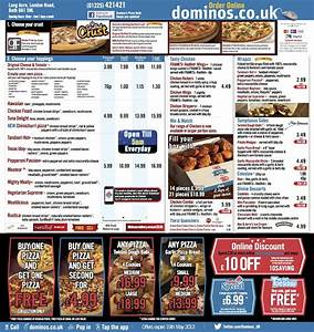 Dominos Pizza Menu 2013   www.imgkid.com - The Image Kid ...
